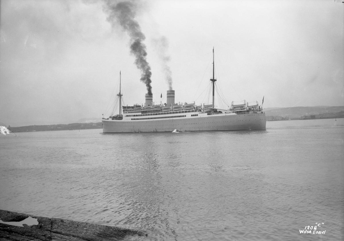 Stavangerfjord (b. 1918, Cammell, Laird & Co., Birkenhead)