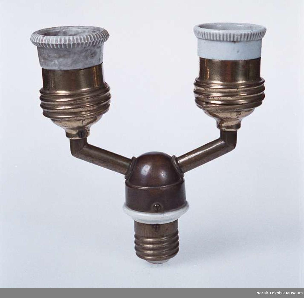 Påmontert 2 glødelamper: NTM 12819 og NTM 12821.d8