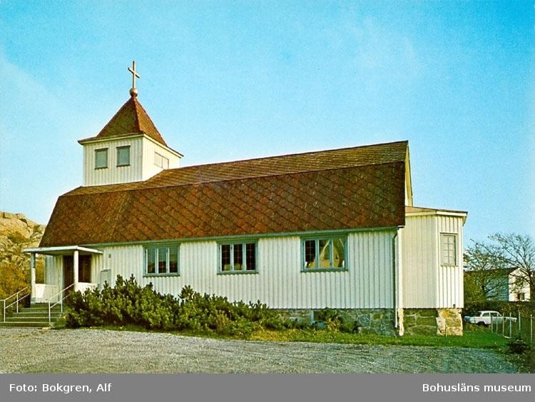 """Tryckt text på bildens baksida: """"Blekets kapell, uppförd 1929."""" """"Foto: Alf Bokgren""""."""