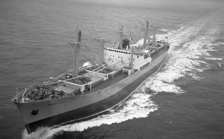 M/S Playa Larga DWT. 15.550 Rederi empr. Nav. Mambisa, Havanna Kölsträckning 69-04-24 Nr. 233 Leverans 69-11-06 Lastfartyg