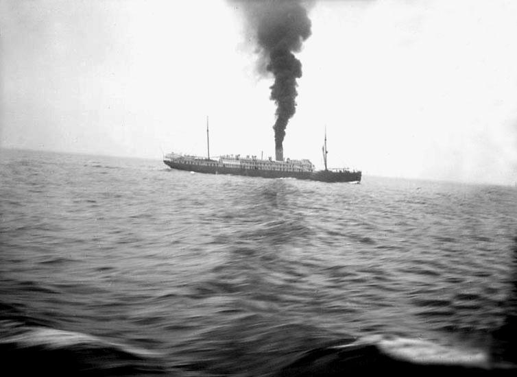 """""""Till sjöss, 1921."""""""