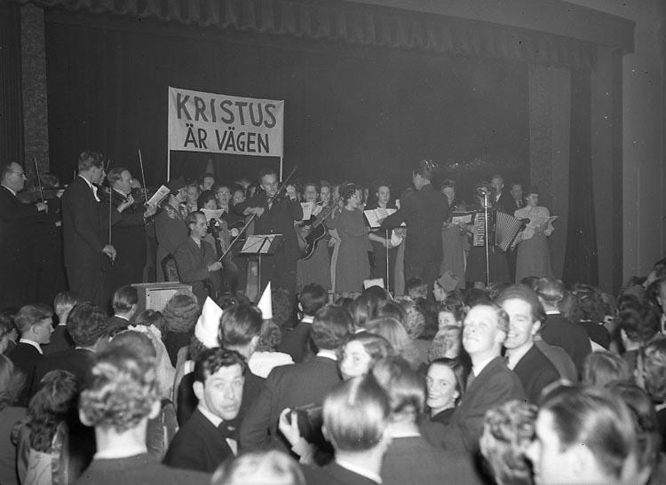 """Enligt notering: """"Möte i Kongresshallen 13/3 1948""""."""