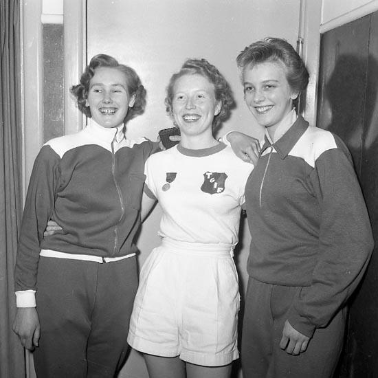 SM i bordtennis 1955