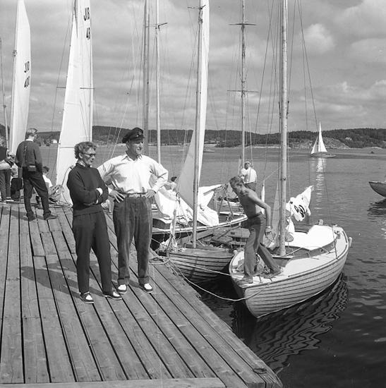 Segelsällskapet Ägirs regatta 1957