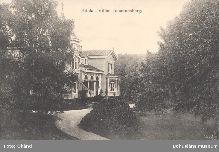 Villa Johannesberg omkring år 1900