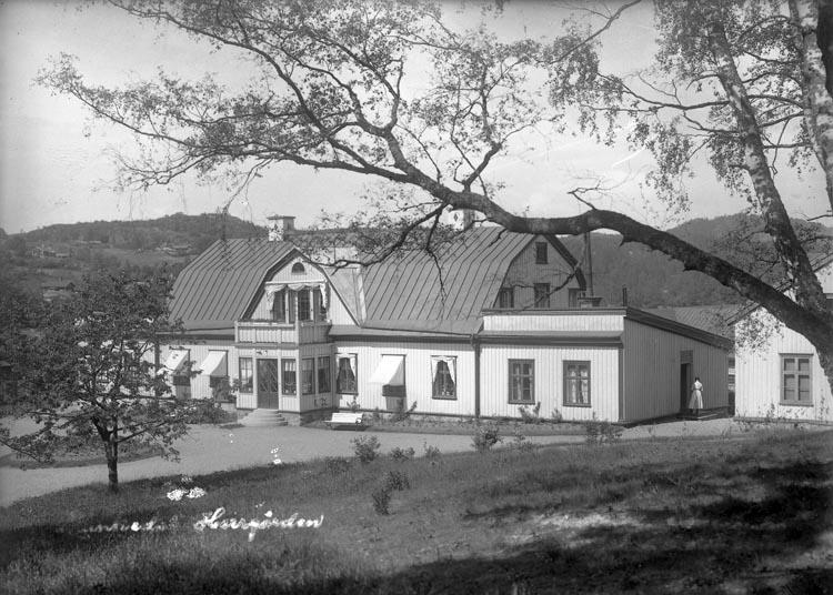 "Enligt fotografens noteringar: ""Munkedals Herrgård."""