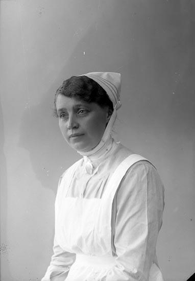 "Enligt fotografens journal nr 4 1918-1922: ""Bengtsson, Fr. Anna adr. Elliot Ön""."