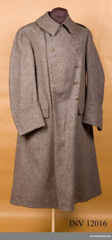 Grupp C I. Kappa m/1910-1923. Deposition från Arméförvaltningens intendenturdepartement, modellkammaren.