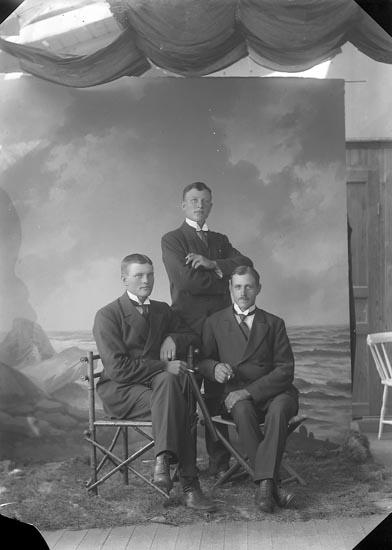 """Enligt fotografens journal nr 3 1916-1917: """"Johansson, Birger Kärr Här""""."""