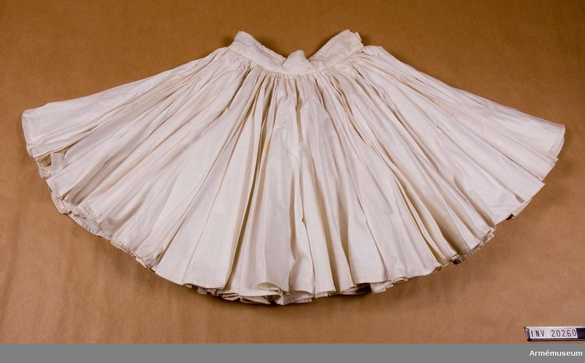 Grupp C I. Ur uniform för jägare, evzoner, vid grekiskt livgarde.Kjolen har 400 veck som representerar de 400 år som Grekland var ockuperat av Turkiet.