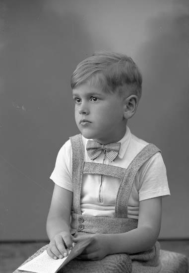 """Enligt fotografens journal nr 8 1951-1957: """"Allansson, Sven-Göran Här""""."""