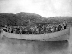 Vadbåten Polstjärnan, Klädesholmen.