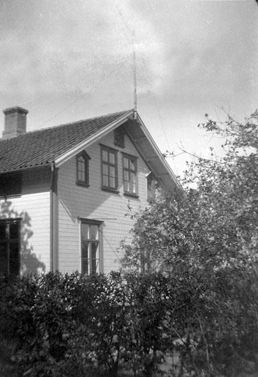 """Enligt senare noteringar: """"Ed. En mycket vacker del av en fin byggnadsstil på Filip Karlssons stora villa""""."""