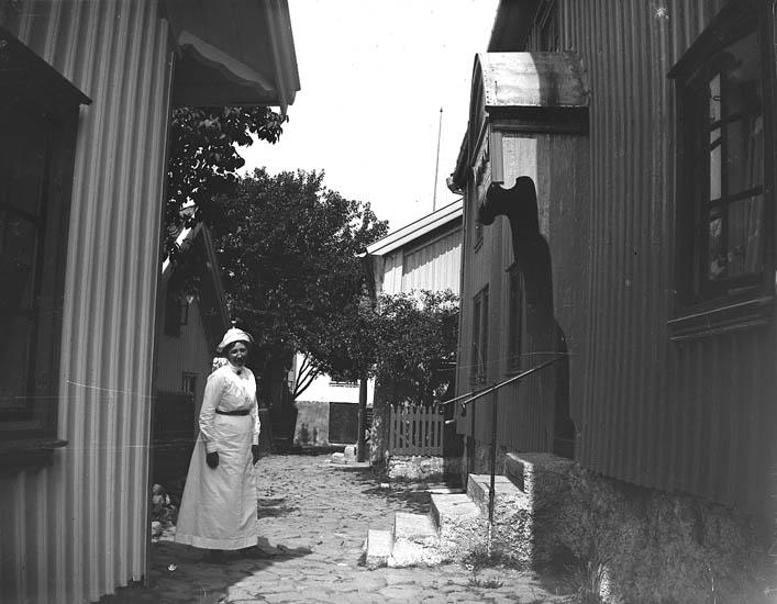 Gatan i Mollösund.