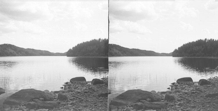(Stereo karta VII) Rishagerödsjön.