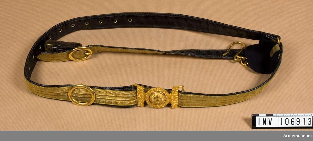 Sabelkoppel m/1859