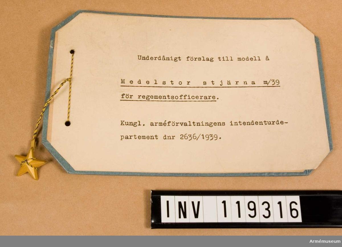 Gradbeteckning m/1939