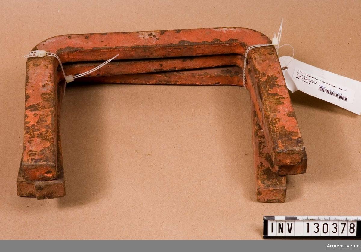 Till 12 cm kanon m/1899 i pansartorn m/1900. Nr 35.