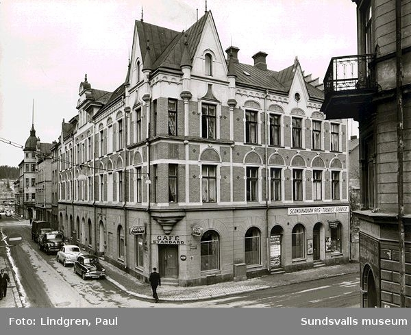 Café Standard. Kyrkogatan 8. Denna fotografering gjordes ev för SP.