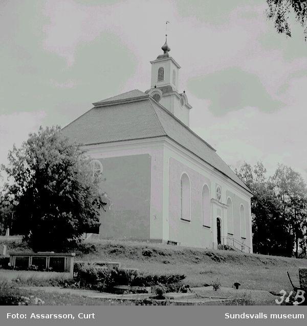 Kyrkan i Borgsjö.