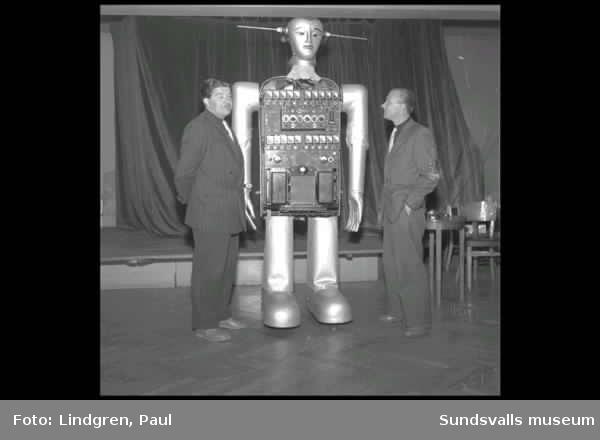 Roboten Zabar. Demonstration.