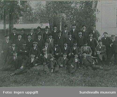 Möte i Svartvik, Njurunda, trol tidigt 1900-tal