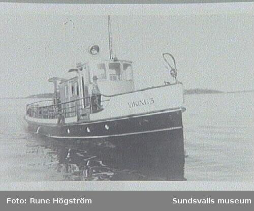 Viking III byggd som Lögdö vid Sunds verkstäder1905.