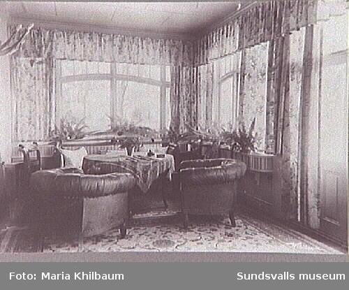 Troligen interiör från Villa Marieberg.