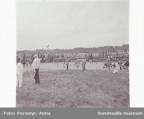 Drakfestival på Högomfältet i samarbetemed Sundsvall Tidning.