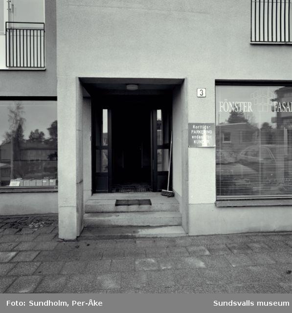 Inventering av 1940- och 50-talsområden utförd av Inger Söderholm, 1997. Kungsvägen 3.