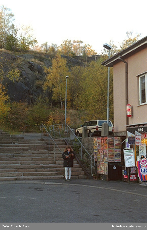 Gamla Torget i Mölndals Kvarnby, 1996.