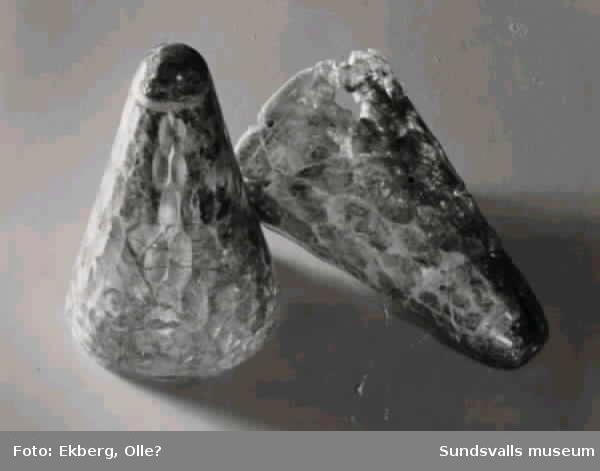 Glasbägare, gravfynd från Högom.