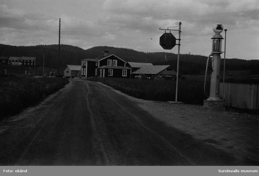 BP-stationen Nybyn, Sidensjö, Örnsköldsvik.
