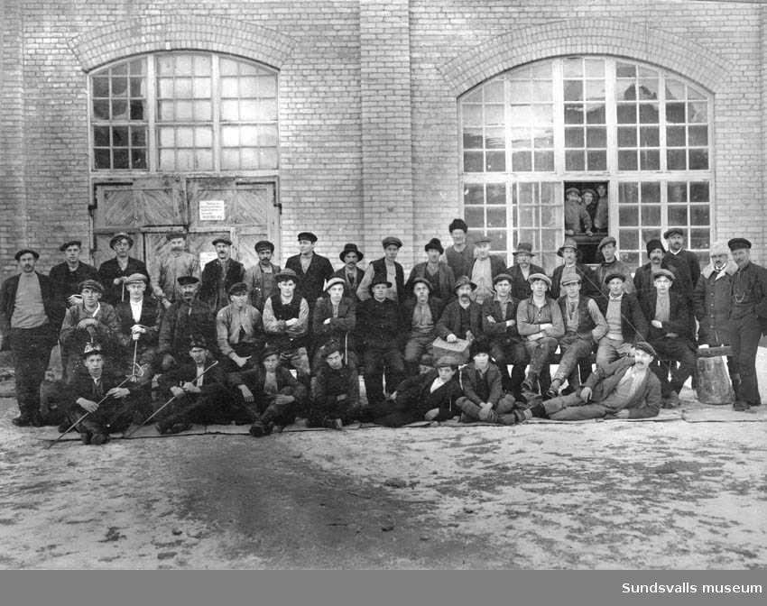 Häggnås sliperi 1915-16.