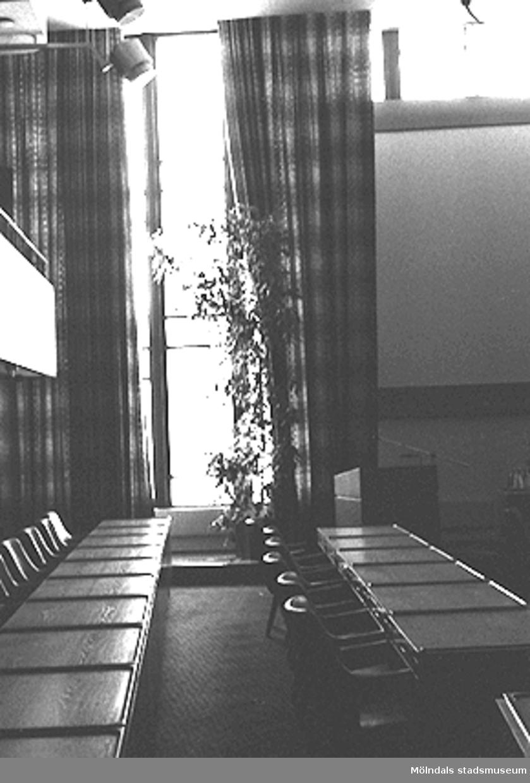 Mölndals stadshus. Stadsfullmäktiges sessionssal.