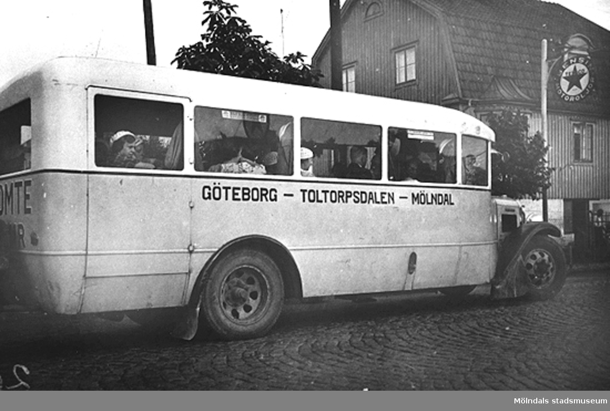 Busslinje, Göteborg - Toltorpsdalen - Mölndal.