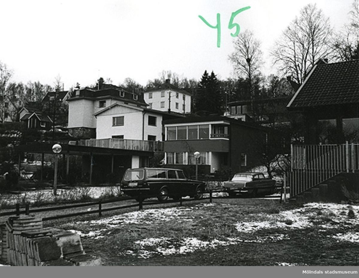 Bostadshus troligtvis på Lyckogatan 8 i Toltorpsdalen, Mölndal.