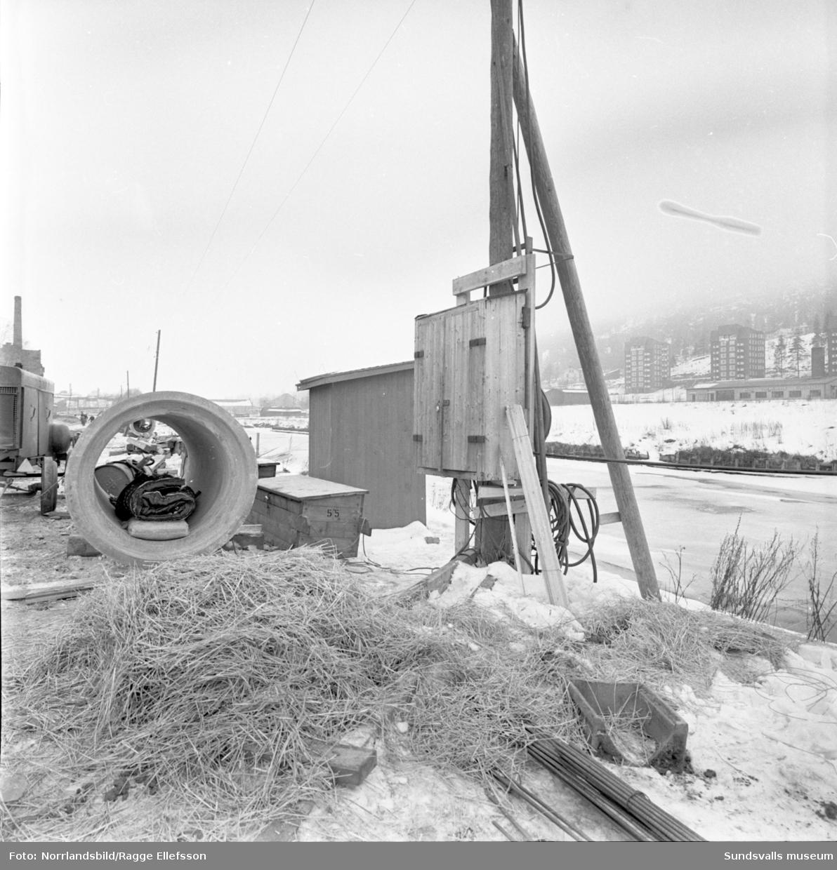 Nytt uppvärmningssystem för att tina upp tjäle på Ågatan, Västermalm.