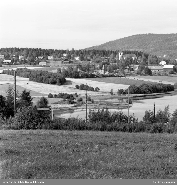 Landskapsvyer över Selångerdalen.