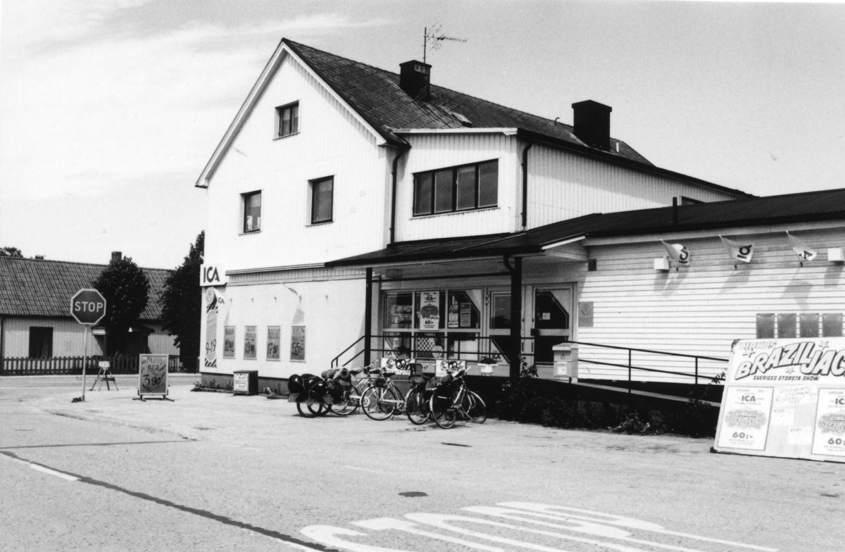 Poststationen Havdhem vid Sudrets Livs, 1993.