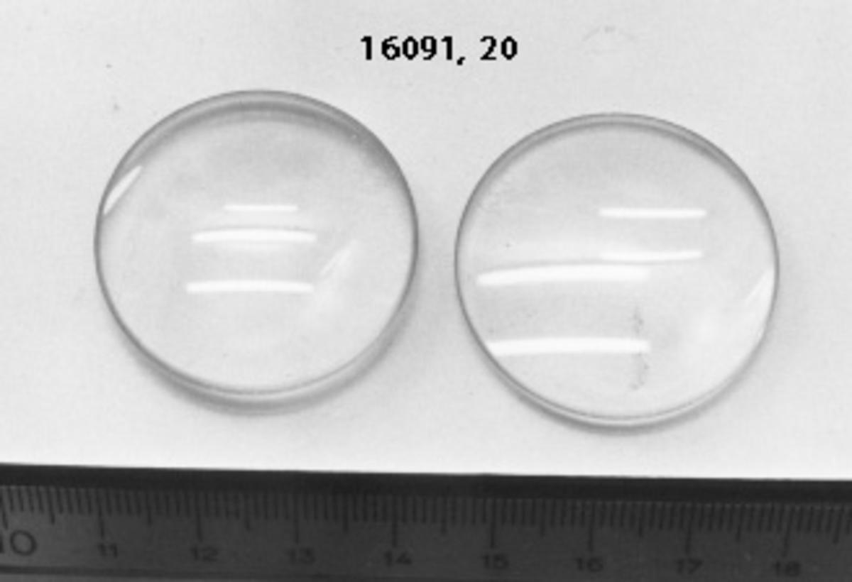 2 extra linser med ingraverad styrka: 13,0 - 20,0.