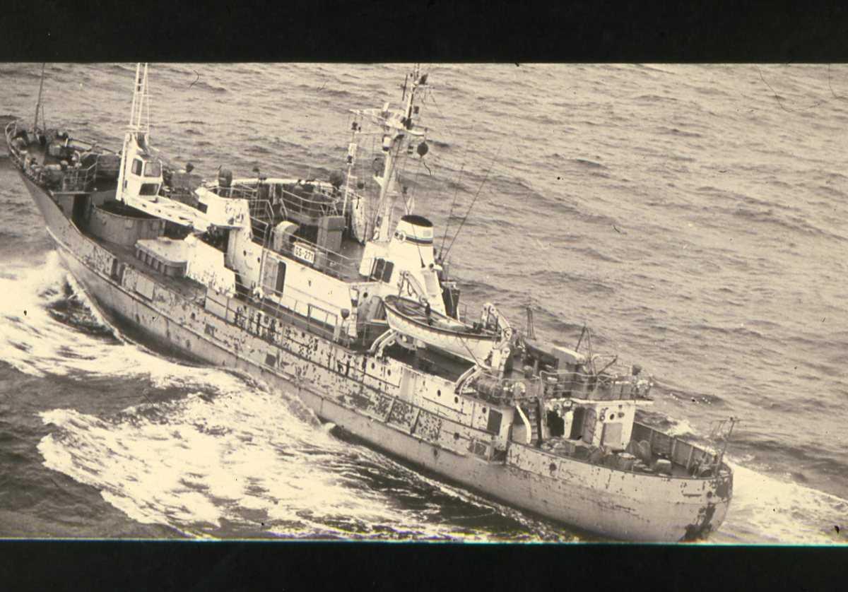 Russisk fartøy av Biya - klassen med nr. GS 271.