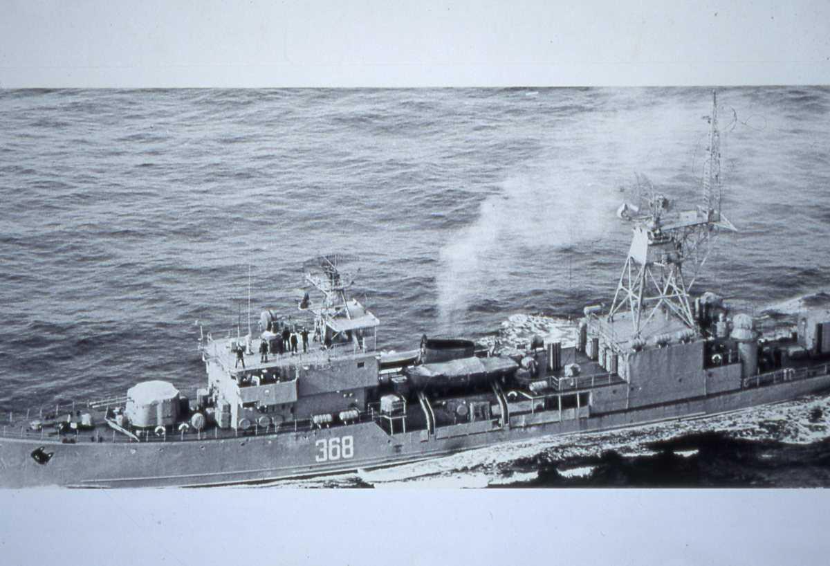Russisk fartøy av Modifisert T-58 - klassen med nr. 368.