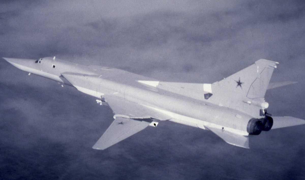 Russisk fly av typen Backfire C.