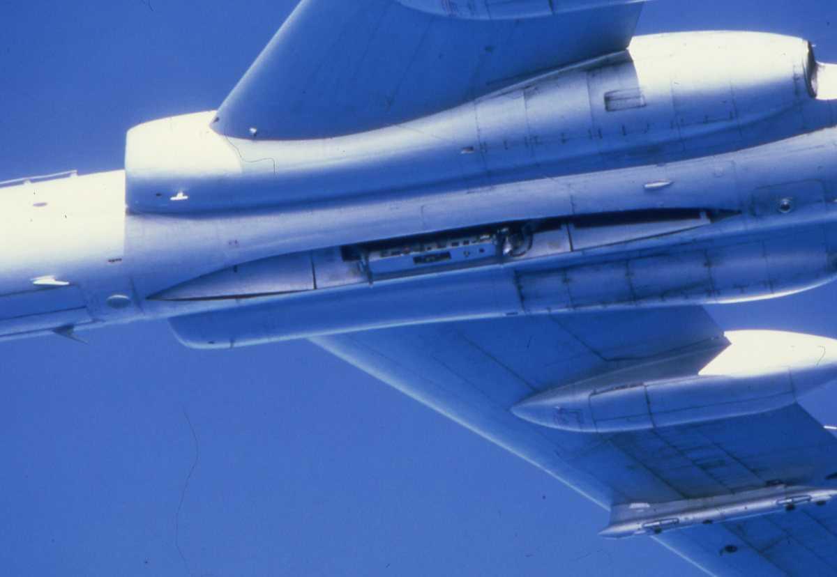 Russisk fly av typen Badger C.