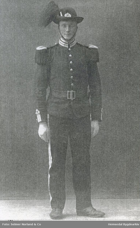Aslak Jordheim (1896-1975) frå Hemsedal.