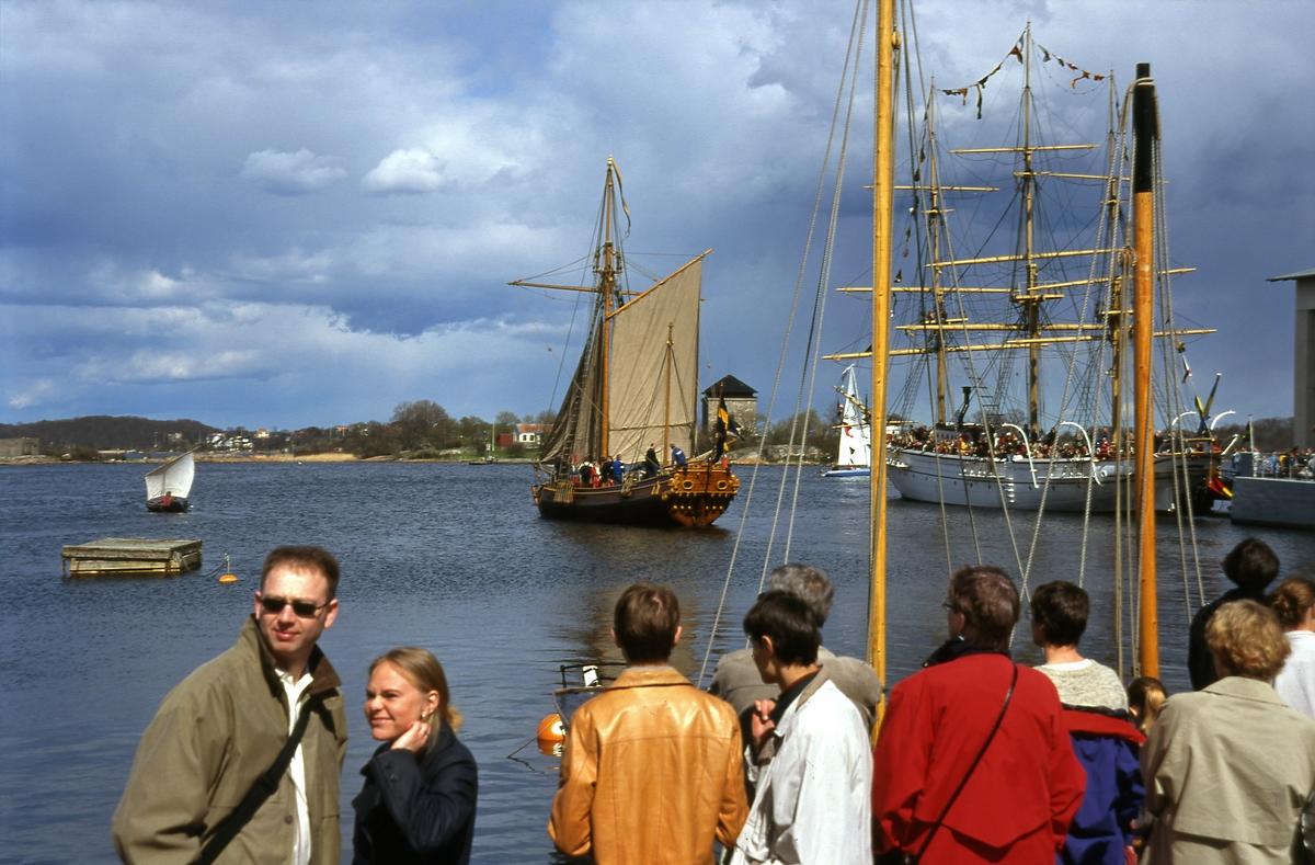 Hiorten sjösatt seglar i skärgården