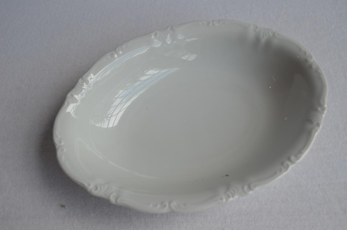 Form: ovalt