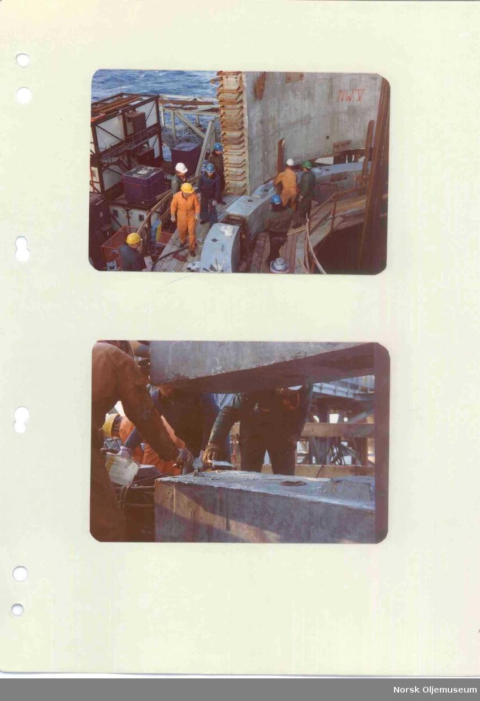 Installing shaft segments