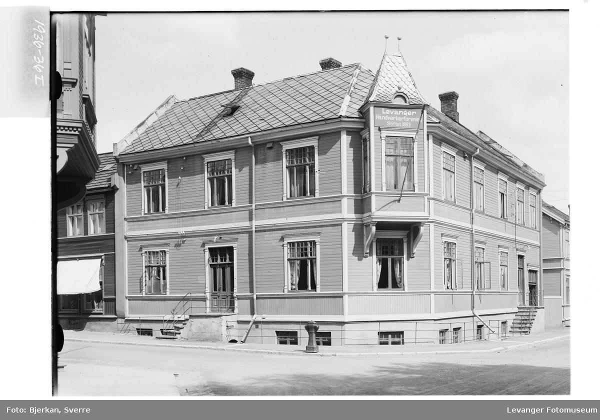 Håndverkerforeningens gård i Levanger By
